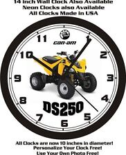 2015 CAN-AM DS250 ATV WALL CLOCK-FREE USA SHIP!