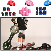 7Pcs/Set Children Kids Safety Helmet Knee Elbow Pad Cycling Skate Bike Protect