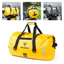90L Outdoor Motorcycle Touring Waterproof Dry Luggage Roll Pack Duffle Bag