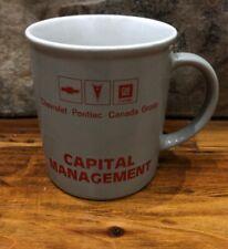 GM Chevrolet Pontiac Canada Plant Coffee Mug Cup General Motors Detroit