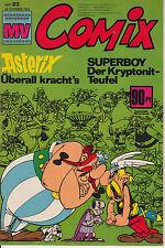 MV COMIX 1970 Nr. 22 (1) sehr guter ZUSTAND Mickyvision mit SUPERMAN Asterix