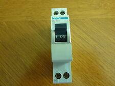 Disjoncteur   HAGER Ph+N C6 Réf MJ 706