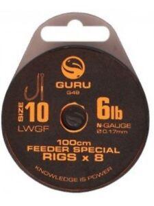 GURU LWGF feeder special rig. 1m. various. Free Postage
