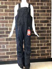 The North Face Women's Black Shred Romper Bib Pants Size L