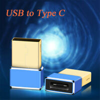 Data Transfer Interface Mini Port USB to Type-c Converter Plug OTG Adapter