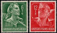 ✔️ GERMANY REICH 1944 - NAZI LABOUR SERVICE - Mi. 894/895  ** MNH OG [DR894]