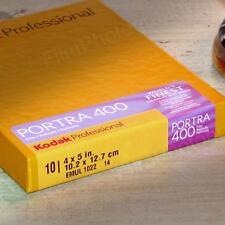 4x5 Film - Kodak Portra 400 Color (1 Box - 10 Sheets - Fresh Dated!)