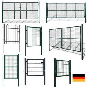 Gartentor, Ausführung wählbar, für Stabmattenzaun Doppelstabmattenzaun Tor Tür