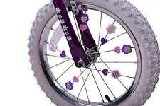 Pink & Purple Colourful Bike Wheel Spoke Beads Kids Fun Spokey Dokeys Clip On