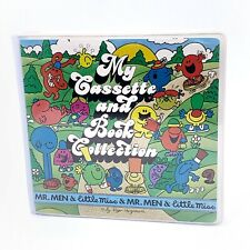 Vintage Mr. Men and Little Miss book cassette Collection Set Complete
