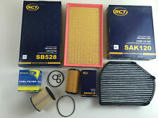 Oil Filter Air Activated Carbon Fuel SCT GERMANY W210 200 220 CDI