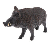 Simulation Wild Boar Animal Model Figurine Educational Toys Collectibles