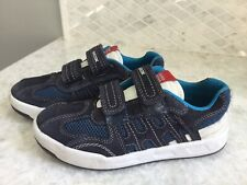GEOX BOYS NAVY SNEAKERS SIZE US 2 EUR 33 VGUC