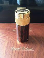 S.T.Dupont Tischfeuerzeug, Briquet Cylindre de Table, Chinalack, wunderschön