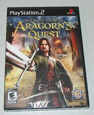 Lord of the Rings Aragorn's Quest Playstation 2 PS2 Factory Sealed