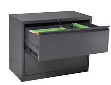 Lateral Filing Cabinet 2 Drawer Metal Office Storage Cabinets Office Furniture