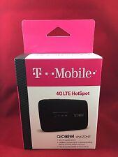*NEW* T-Mobile Alcatel LINKZONE 4G LTE Wi-Fi Hotspot Modem MW41TM Black