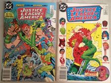 Justice League of America 241 242 August Aug September 1985 DC comic lot of 2
