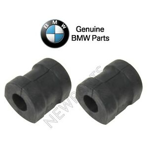 For BMW E36 318i 323i Z3 Pair Set of 2 Front Sway Bar Bushings 24 mm Genuine