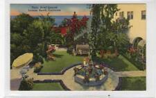 PATIO HOTEL, LAGUNA BEACH: California USA postcard (C30187)