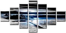 7 Panel Total Size 160x90cm Large Digital Print Canvas Wall Art HOZEN