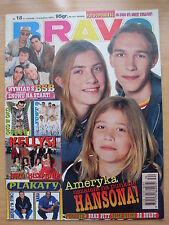 BRAVO 18/1997 HANSON,Justin Timberlake,Kelly Family,Michael Jackson,Spice Girls