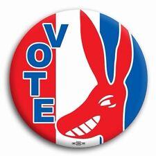 "Vote Barack Obama Democrat Liberal Progressive Donkey Button Pin 2 1/4"""