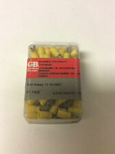 (100) GARDNER BENDER 10-145F INSULATED DISCONNECT TERMINALS 12-10 AWG