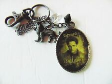 Twilight Edward Keychain with Charms - Bag Clip - Summit Entertainment