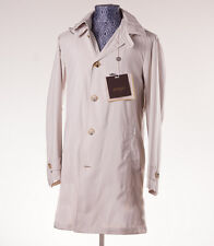 NWT $895 ALLEGRI Beige 'City Nylon' Lightweight Packable Trench Coat L/52 Jacket