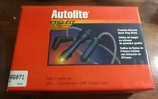 AUTOLITE 86071 PRO FIT FORD SPARK PLUG WIRES SILICONE NEW