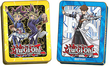 Yu-Gi-Oh! 2017 Mega Tins Seto Kaiba & Yugi Muto Set of 2 SEALED NEW!