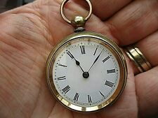 vintage MELTIS, ladies fob watch, running nice collectable,