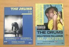 The Drums handbills Los Angeles 2017/19