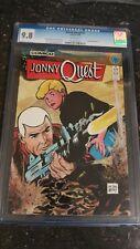 JONNY QUEST #1 CGC 9.8 WHITE PAGES 1986 COMICO COMICS OLD BLUE LABEL KEY BOOK