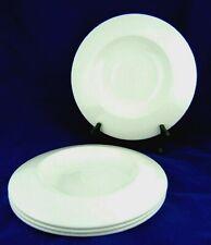 Steelite Intl England Distinction Float Plate Large Well 9001C600 White LOT of 4