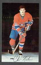 1984-85 Montreal Canadiens Team-Issued Chris Nilan Card
