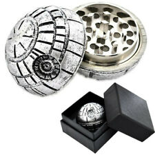 Death Star Wars Grinder Aluminum Herb Spice 3 Layers Tobacco Crusher