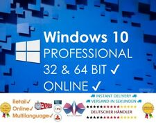 Microsoft Fqc-09131 Windows pro 10 32-bit/64-bit E