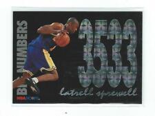 1994-95 Hoops Big Numbers #BN6 Latrell Sprewell Warriors