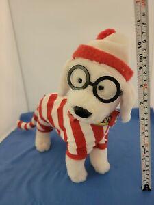 Where's Waldo stuffed Dog Woof