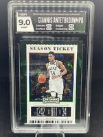 Giannis Antetokounmpo Panini Contenders Season Ticket Cracked Ice 22/23