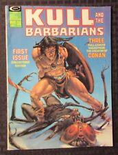 1975 KULL And The Barbarians #1 Magazine FN+ 6.5 Neal Adams / Gil Kane