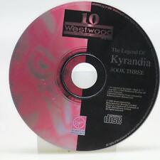 "The Legend of Kyrandia Book Three 1995   PC Spiel   Nur CD   Gut """