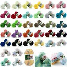 Stock Bamboo Cotton Warm Soft Natural Knitting Crochet Knitwear Yarn 50g