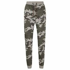 Enfants Filles Garçons Camouflage Jogging Pantalon Survêtement Bas Décontracté