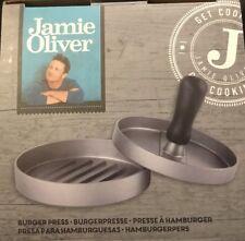 Burger Presse Hamburgerpresse Aluminium Jamie Oliver unbenutzt Burgerpresse