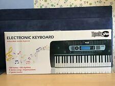 BRAND NEW IN BOX RockJam RJ-654 54 Key Keyboard Piano in Black complete