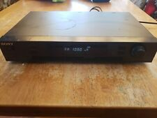 Vintage Sony St-Jx741 Am Fm Stereo Tuner Tested and Working
