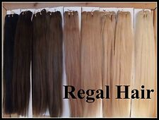 WEFT/WEAVE REAL HUMAN REMY HAIR EXTENSIONS #22 100G USE W/CLIP IN OR SEW